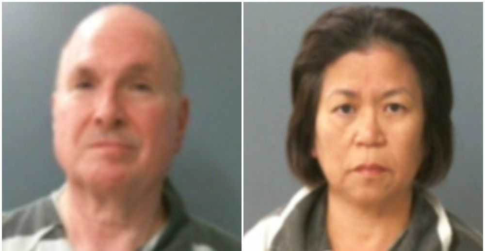 Tad W. Taylor and his wife, Chia Jean Lee, were booked into the Fannin County Jail to await sentencing after their conviction on federal drug-trafficking charges.