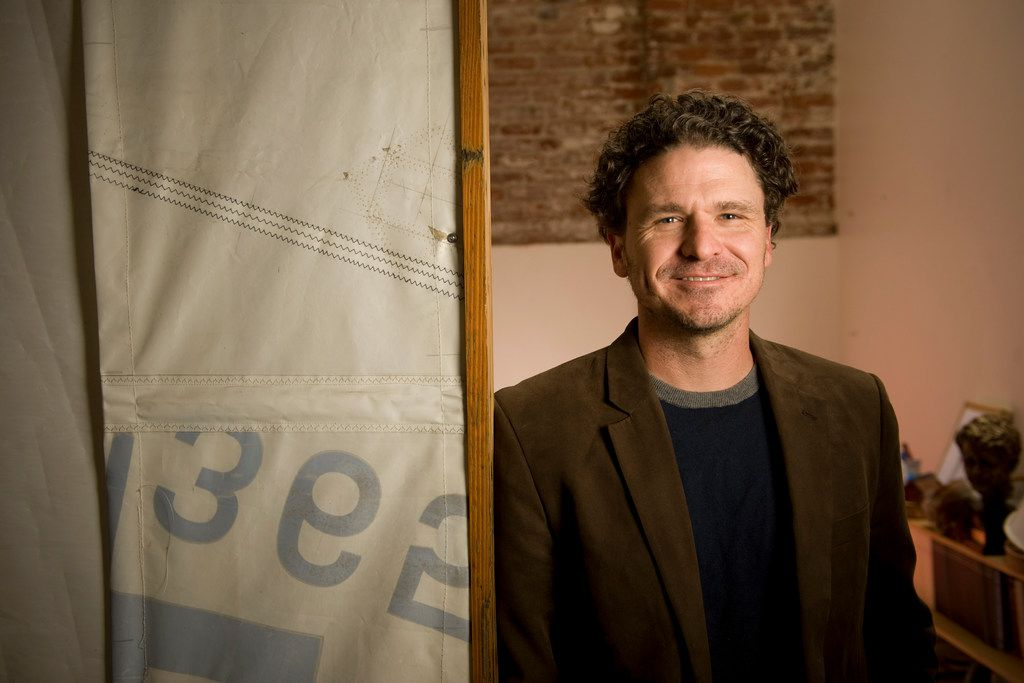 In this 2012 file photo, author Dave Eggers is seen in his San Francisco office. Eggers' The Circle was chosen as the 2018 book for Richardson Reads One Book.