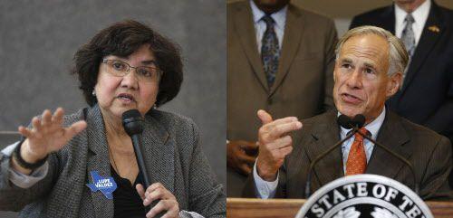 Valdez criticó la decisión de Abbott de escoger que el debate se lleve a cabo en la noche de un viernes, especialmente durante la temporada de fútbol americano de preparatoria.(Rose Baca y Vernon Bryant/DMN)