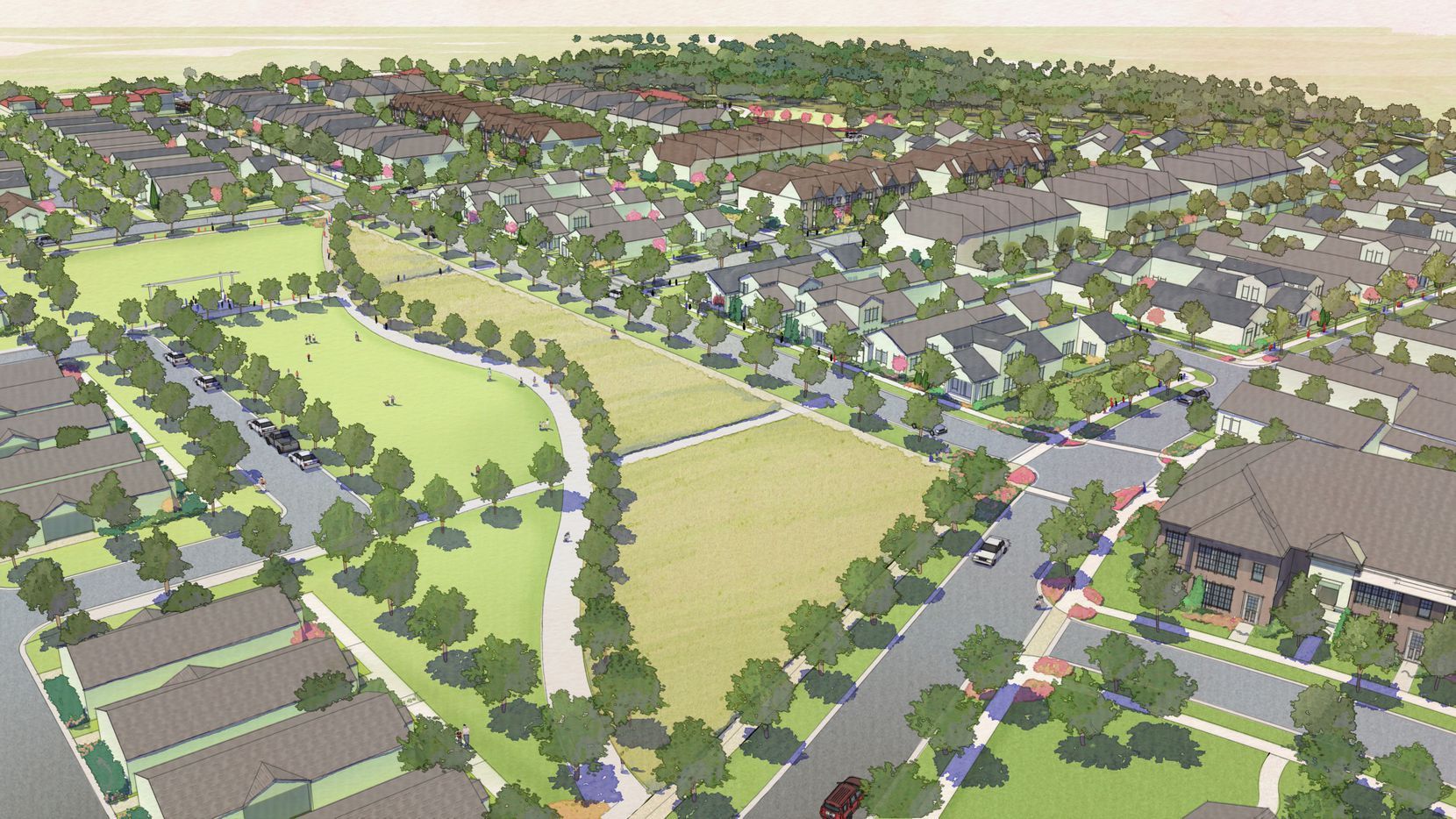 The Wyrick farm on Shiloh Road will be developed for a 600-home neighborhood.