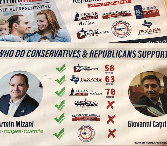 Logo stacking is what The Watchdog calls a political campaign tactic in which candidates load their mailers with groups' logos. But are the groups real?