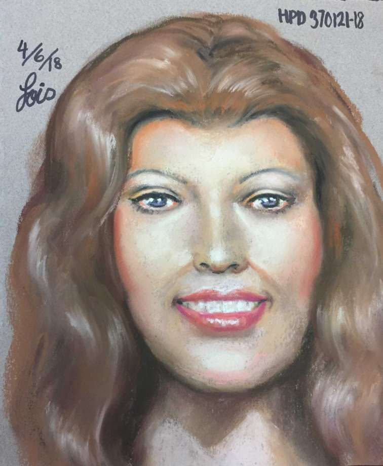 Drawing of the victim in the Texas case