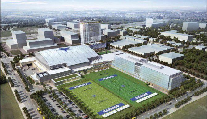 Así serán los campos de entrenamiento del equipo.