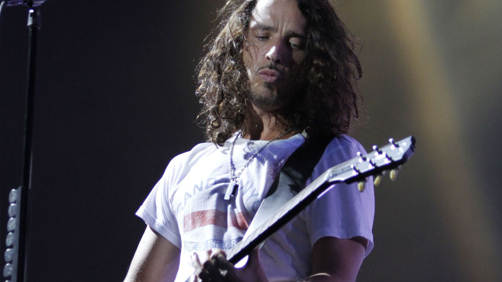 El cantante Chris Cornell, vocalista de Soundgarden AP