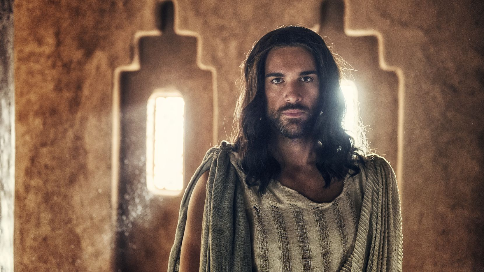 "Juan Pablo Di Pace portrays Jesus in a scene from ""A.D. The Bible Continues."" The 10 episodes picked up where its predecessor, the wildly popular """"The Bible"""" series from the History Channel left off and  told the story of what happened to the disciples after the crucifixion."