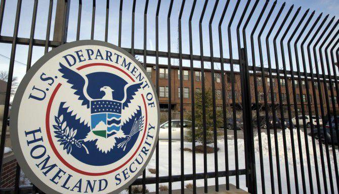El cuartel general del Departamento de Seguridad Nacional en Washington. (AP/MANUEL BALCE CENETA)