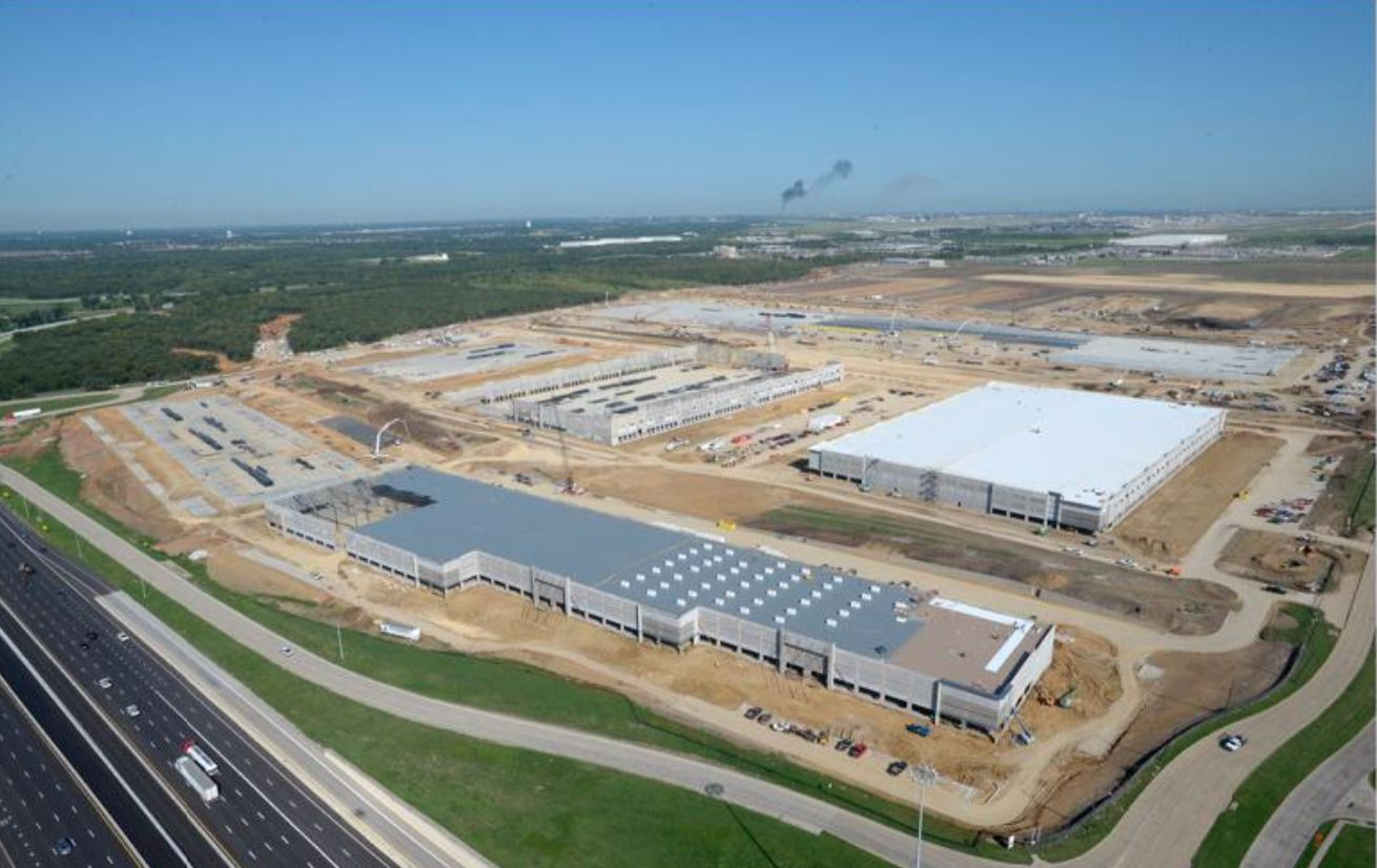 Almost 7 million square feet of warehouse space is coming at the south end of DFW Airport.