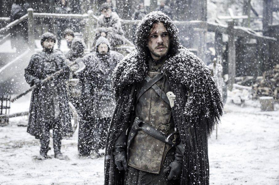 """John Snow (Kit Harrington), en una escena de """"Game of Thrones"""". HBO"""