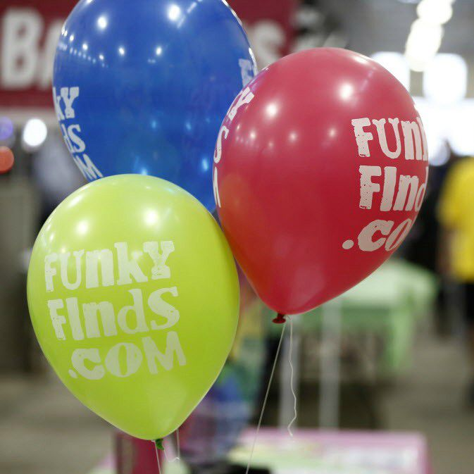 The Funky Finds show at Will Rogers Memorial Center in Fort Worth.