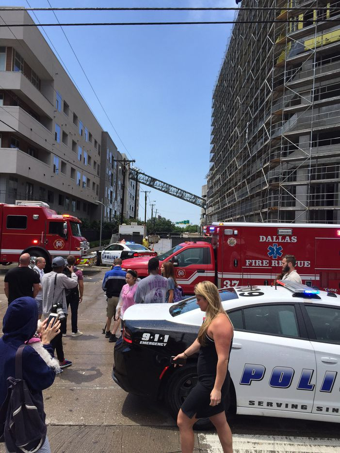 Crews were called just before 2 p.m. June 9 to the 2600 block of Live Oak Street in Old East Dallas, near North Central Expressway and the Good-Latimer Expressway.