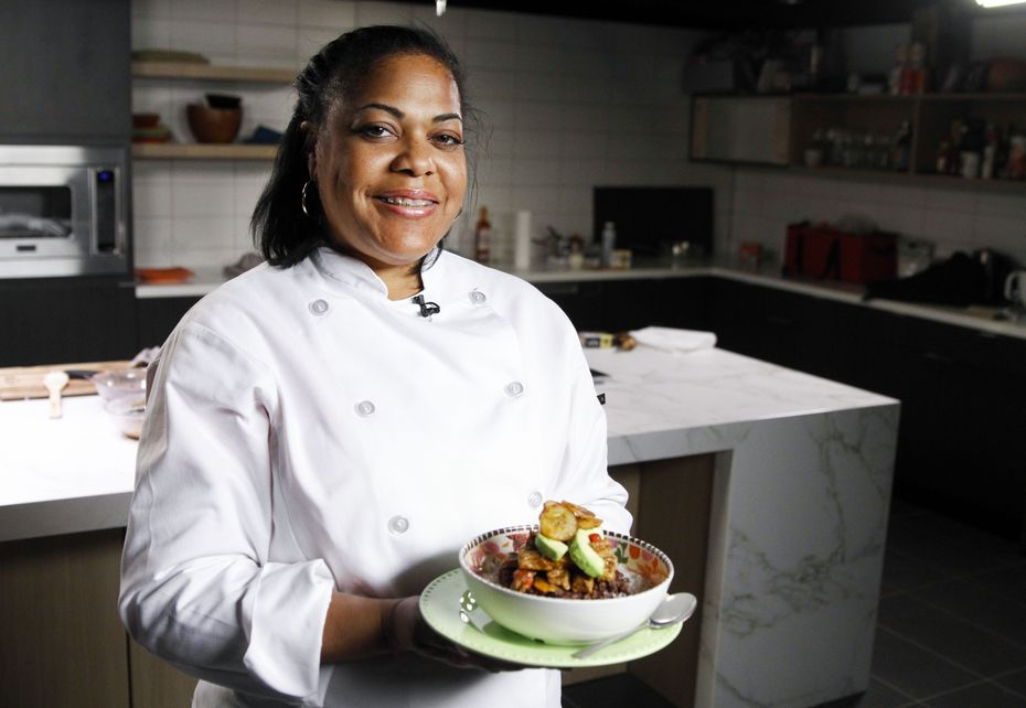 Chef Cynthia Nevels of Soulgood operates a vegan food truck that caught the eye of pop star Billie Eilish and her crew.