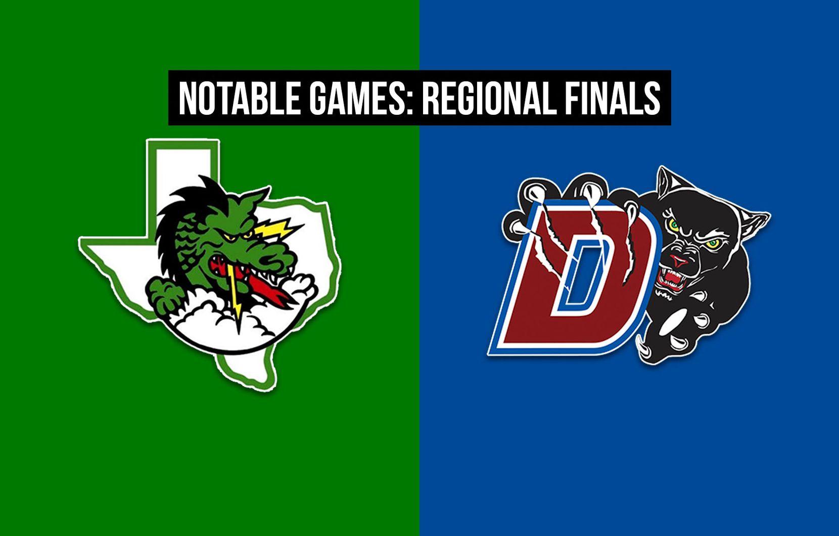 Southlake Carroll vs. Duncanville.
