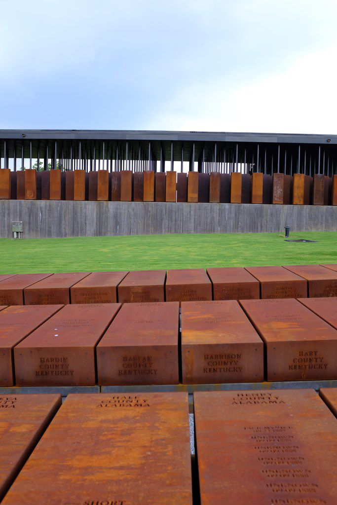 The National Memorial for Peace and Justice, in Montgomery, Ala.
