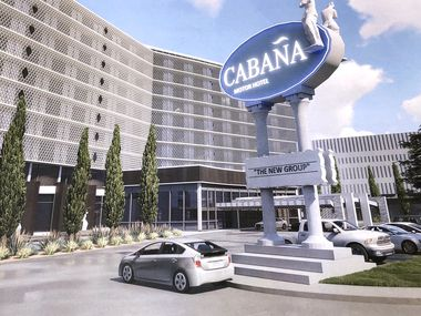 The Cabana Hotel on Stemmons Freeway is set for a redevelopment.