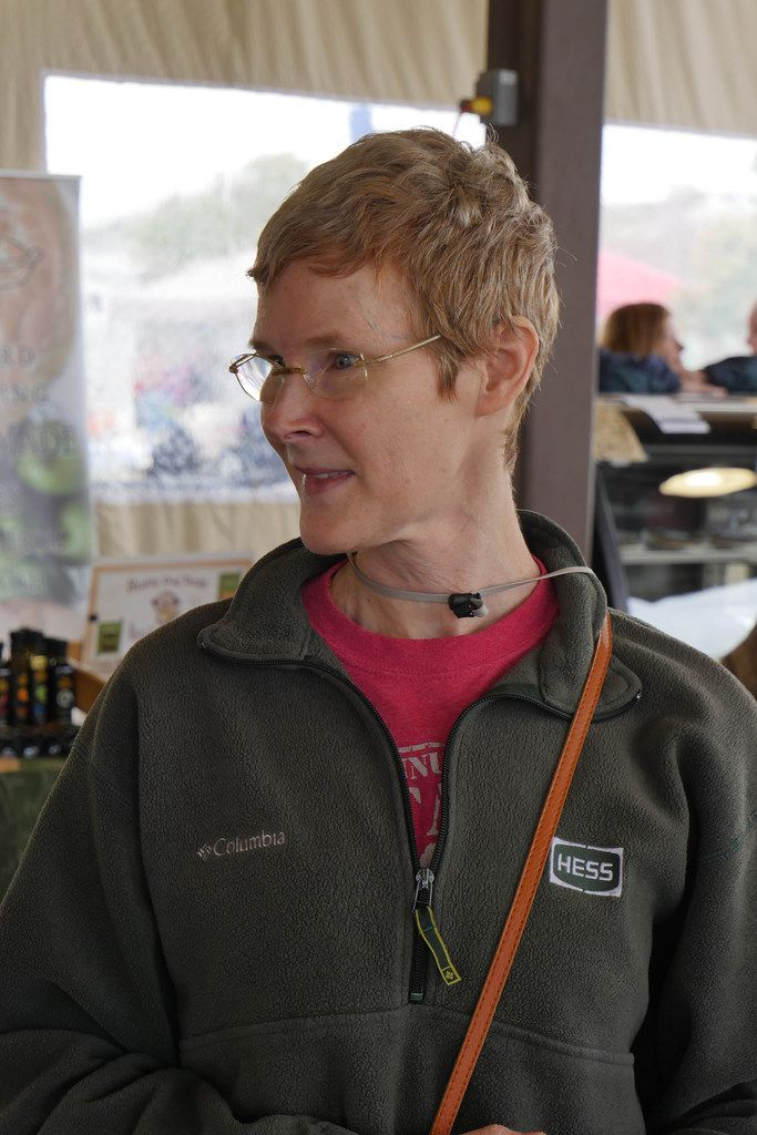 Terri Patrick at the Coppell Farmers Market says she probably wouldn't shop the farmers market if the fruits, vegetables and meats weren't locally grown.