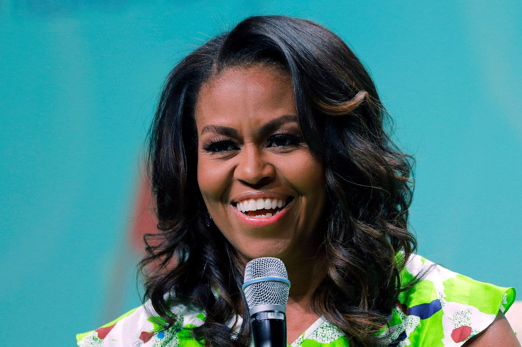 Former first lady Michelle Obama is coming to Dallas.