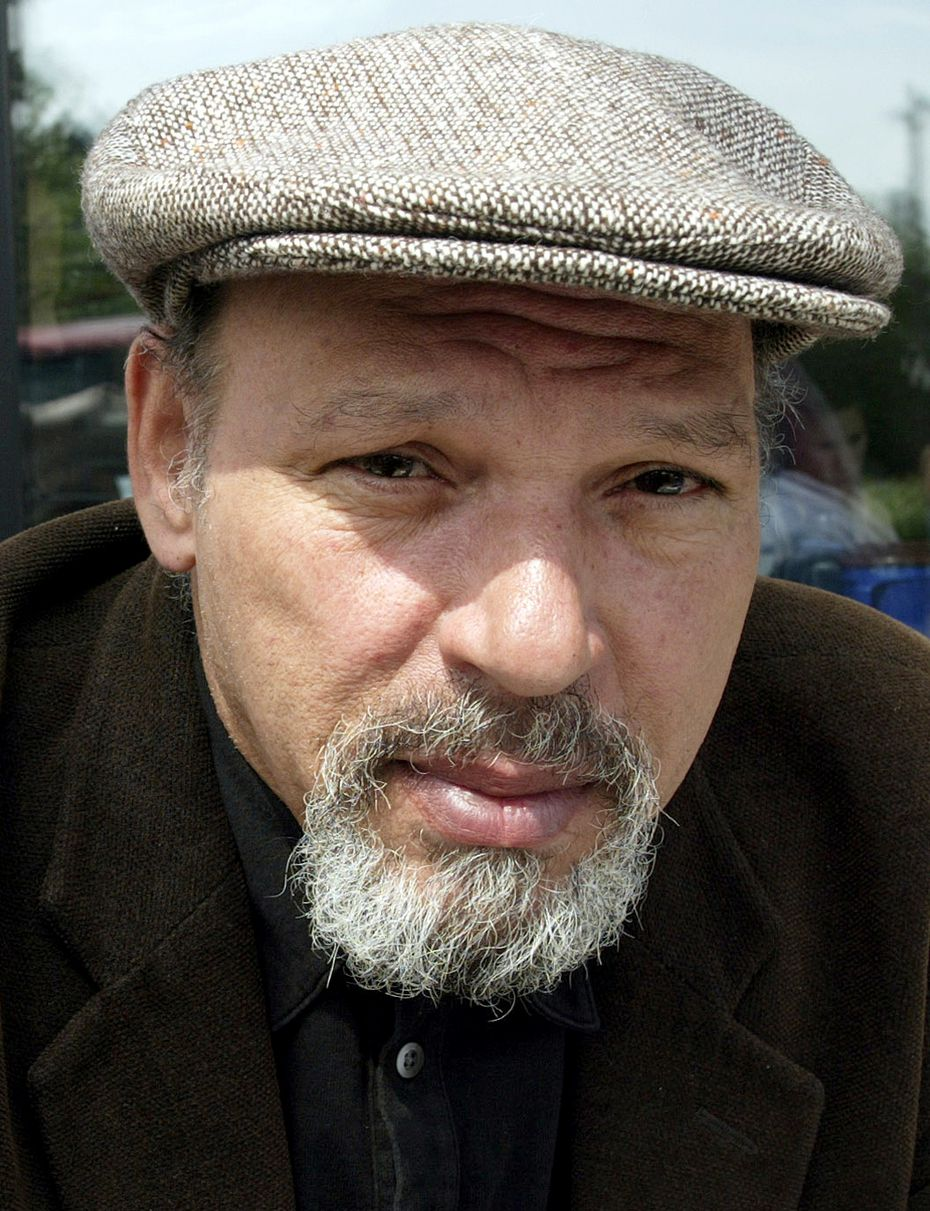 Playwright August Wilson in 2003