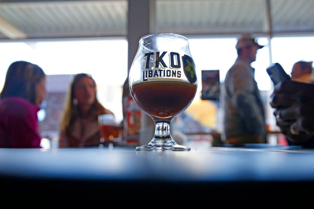 TKO Libations in Lewisville celebrated a grand opening on Jan. 13, 2018.