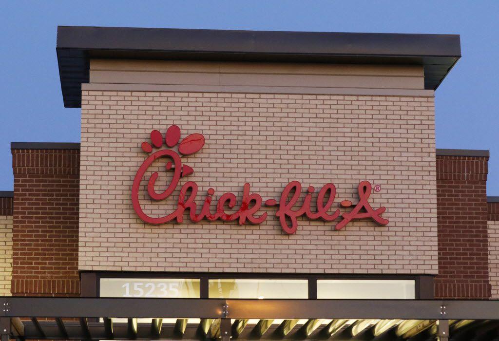 Chick-fil-A in the 15200 block of Montfort Drive in Dallas.
