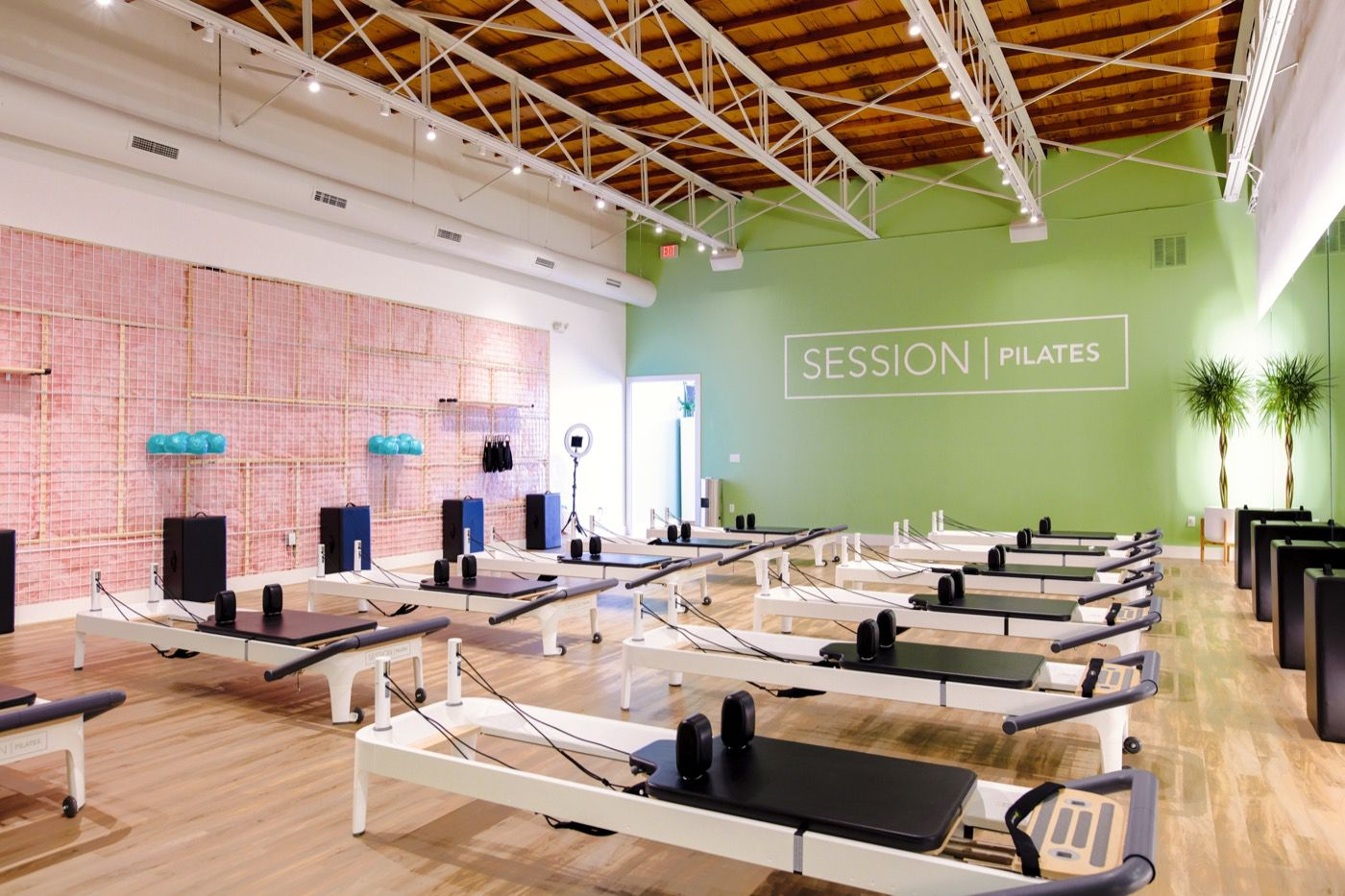 Session Pilates, pictured here in Lakewood, is expanding to a new area of Dallas: University Park. The third Session Pilates in Dallas is expected to be open by April 2019.
