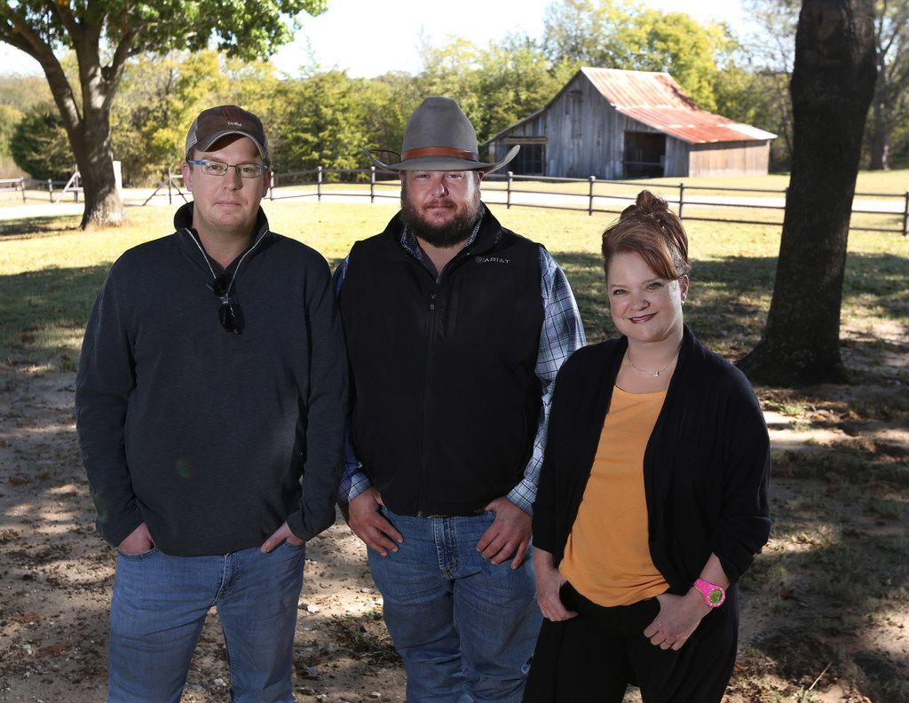 Chef Matt Balke of Bolsa restaurant, Cade Nichols of A Bar N Ranch and Chef Janice Provost of Parigi recently took a tour of the ranch in Sherman.