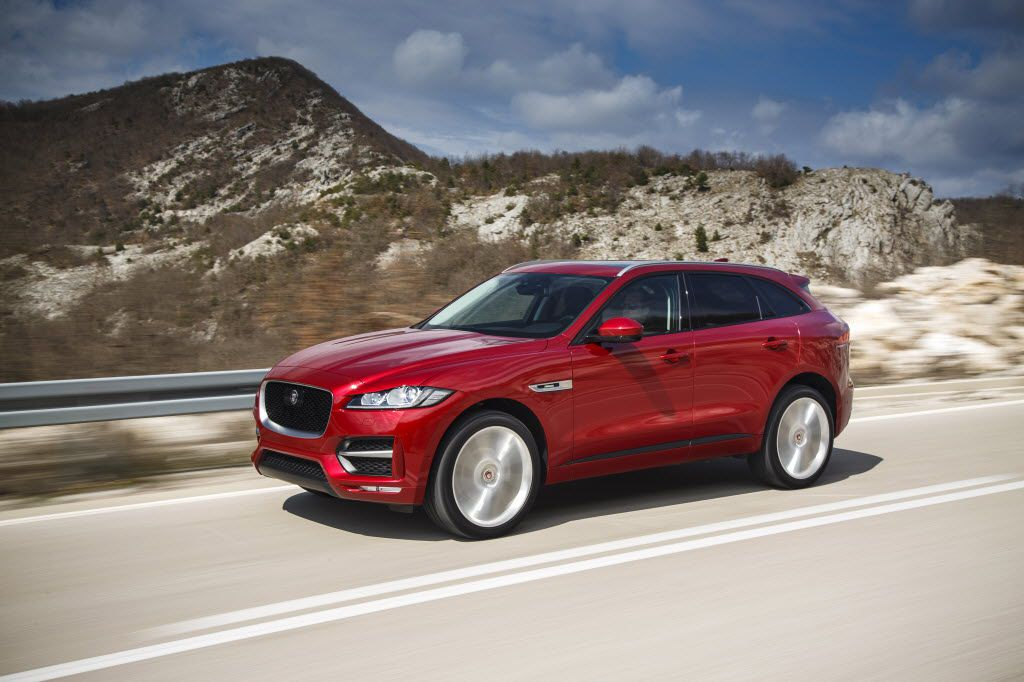 The 2017 Jaguar F-Pace R-Sport sport utility vehicle expands the range of the company's lineup.