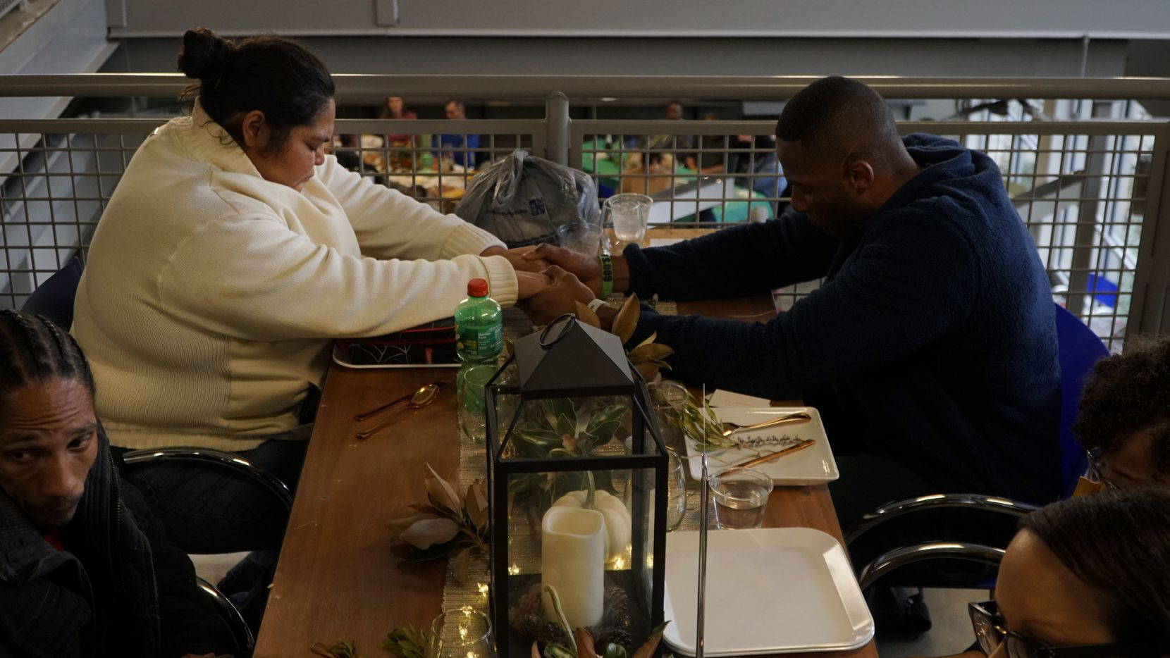 I do matter': Holiday dinner a welcome pause for Dallas