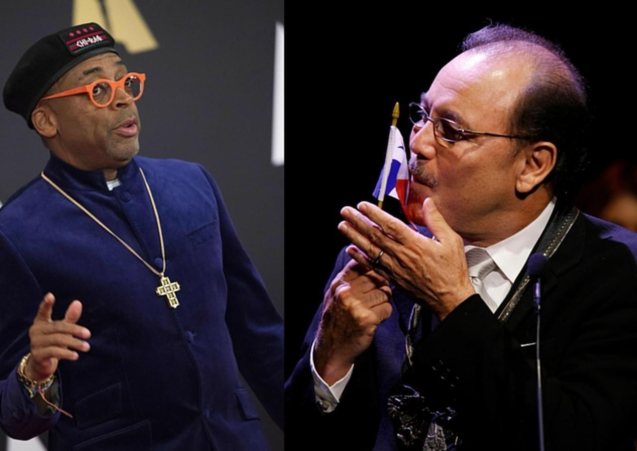Spike Lee (izq.) no estará en la ceremonia del Oscar como protesta por la falta de diversidad entre los candidatos. Rubén Blades afirma que los latinos son mucho más discriminados que los afroamericanos en Hollywood.(GETTY IMAGES, AP)