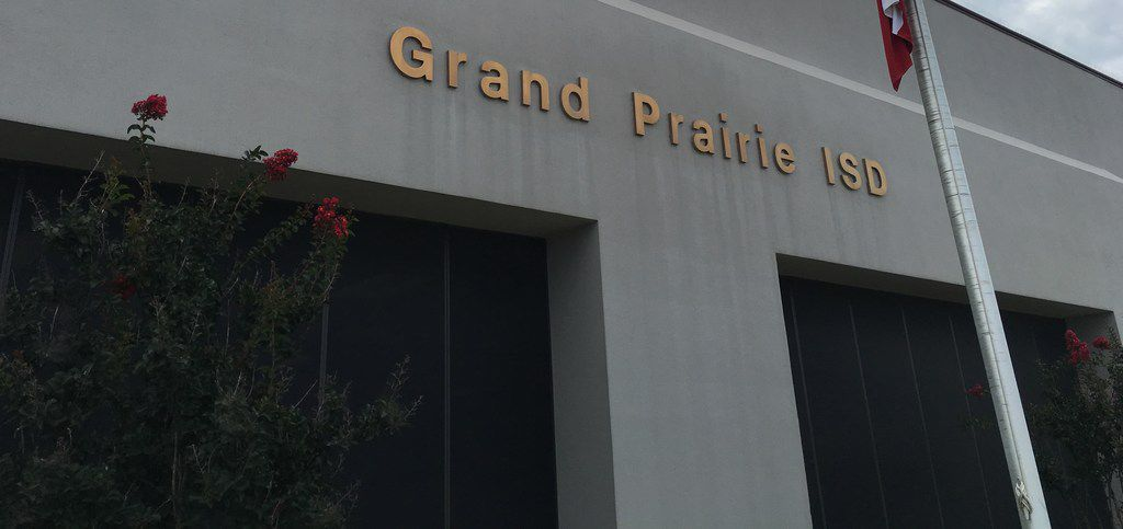 The Grand Prairie School District administrative office