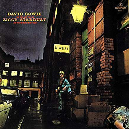 """David Bowie's album """"The Rise and Fall of Ziggy Stardust and the Spiders From Mars"""""""