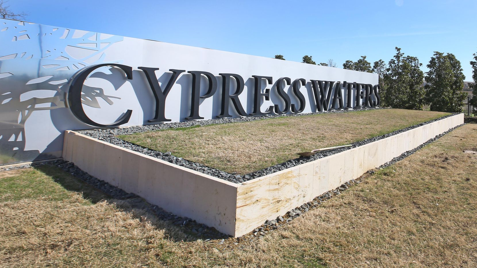 More than 1,400 apartments have so far been built at Cypress Waters, which is near LBJ Freeway and Belt Line Road northwest of Dallas.