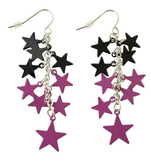 ORG XMIT: *S0413522760* 7-22-05 --- Back to School issue. Star earrings, $6.50, Claire's. 08042005xTxl 08082005xQUICK
