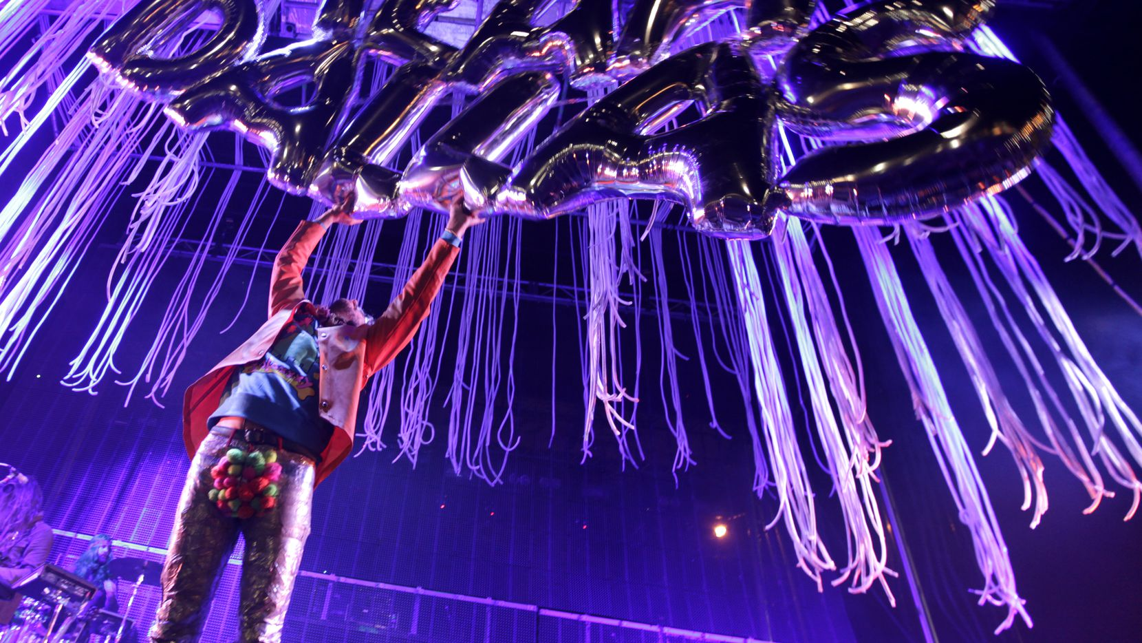 The Flaming Lips perform during Untapped Dallas held at Fair Park in Dallas, TX, on Nov. 7, 2015. (Jason Janik/Special Contributor)