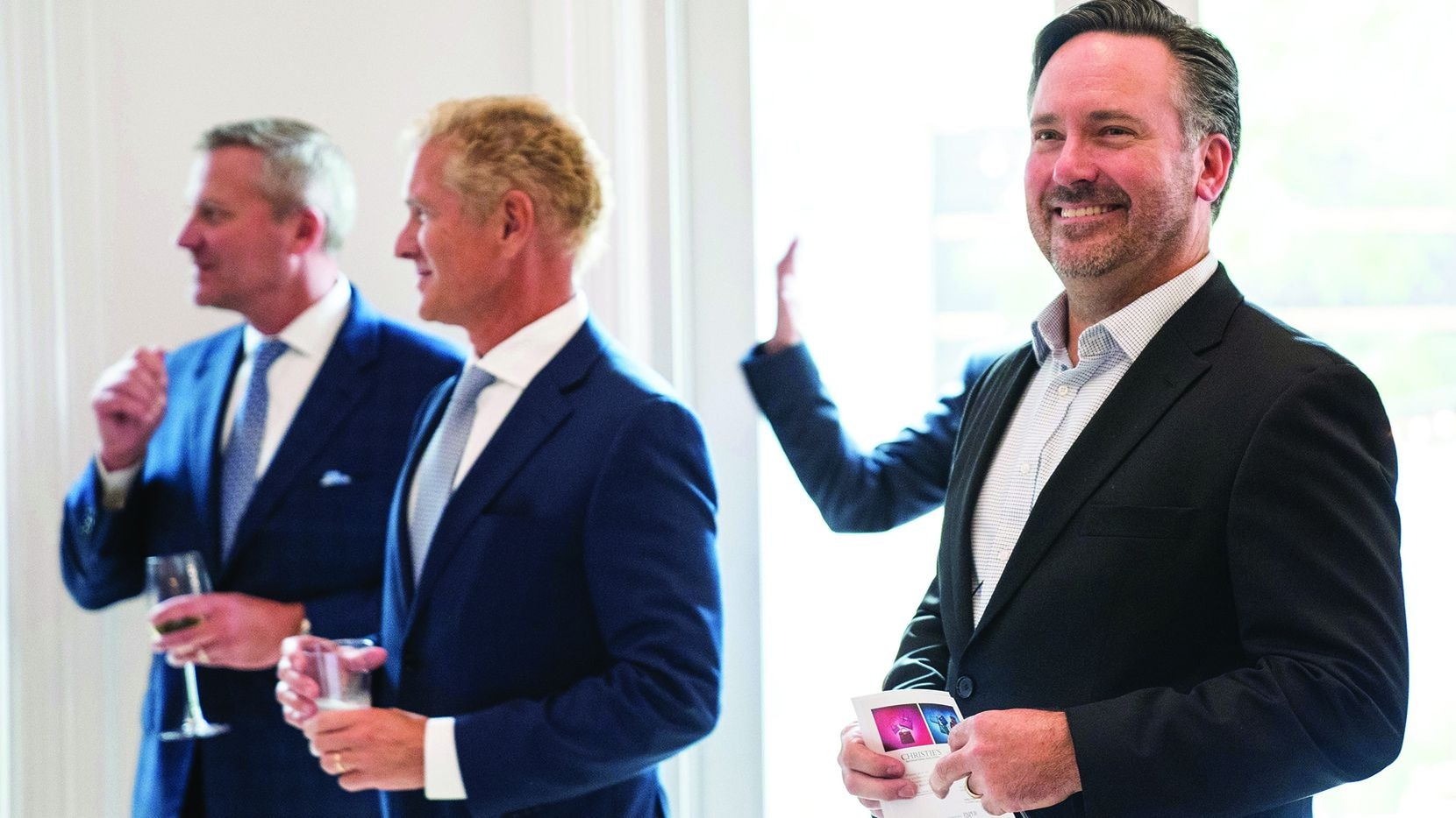 Christie's International Real Estate, with its D/FW affiliate, ULTERRE, celebrates the opening of a new luxury residential and commercial real estate office.