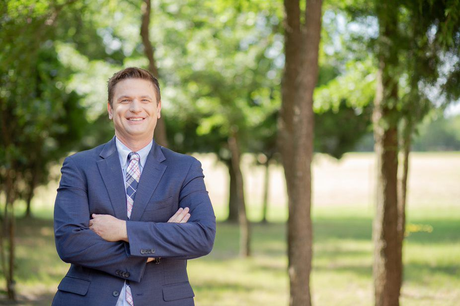 """Stephen Daniel, a Waxahachie attorney, on Wednesday announced his campaign against Arlington Rep. Ron Wright. He said the suburban-rural district is, politically, """"a closer district than people think."""" (Courtesy of Stephen Daniel campaign.)"""