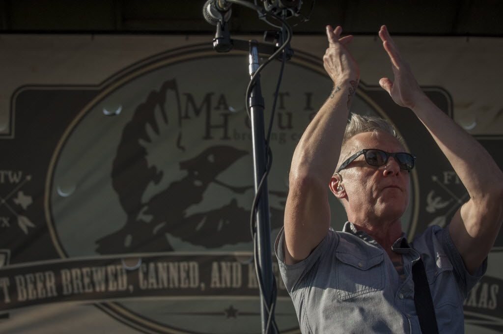 Todd Lewis of the Toadies performs at Martin House Brewing Company in Fort Worth, Texas on June 26, 2016.