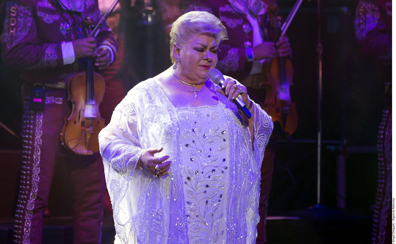 """La cantante Paquita la del Barrio actuará junto a Alicia Villarreal en el """"Duelo de Estrellas""""./AGENCIA REFORMA"""