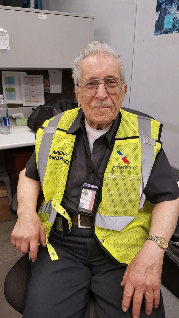 "American Airlines mechanic Azriel ""Al"" Blackman"