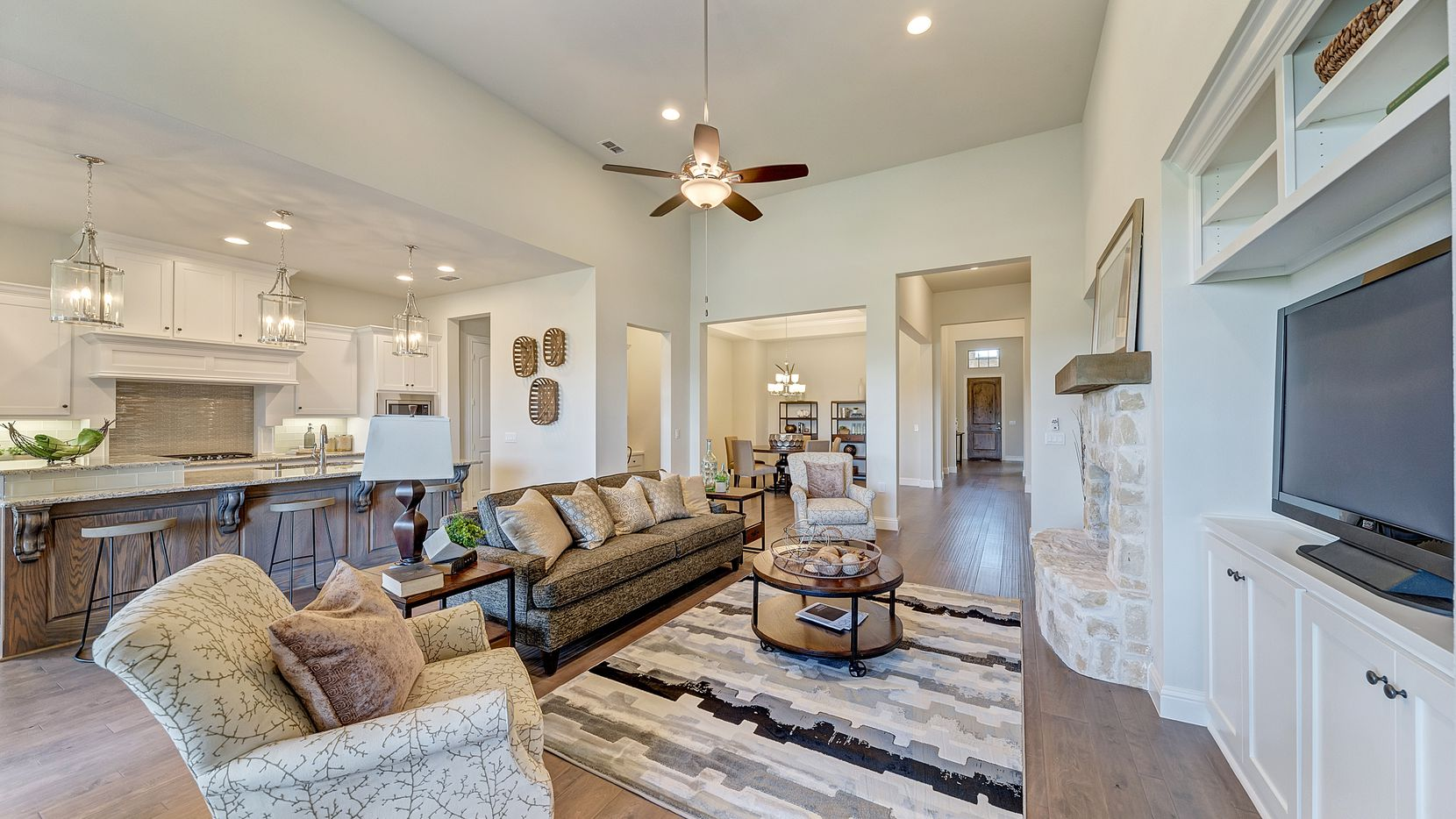 Top-selling single-story floor plans are available in Orchard Flower, a 55-plus community in Flower Mound featuring new homes from the $400s.