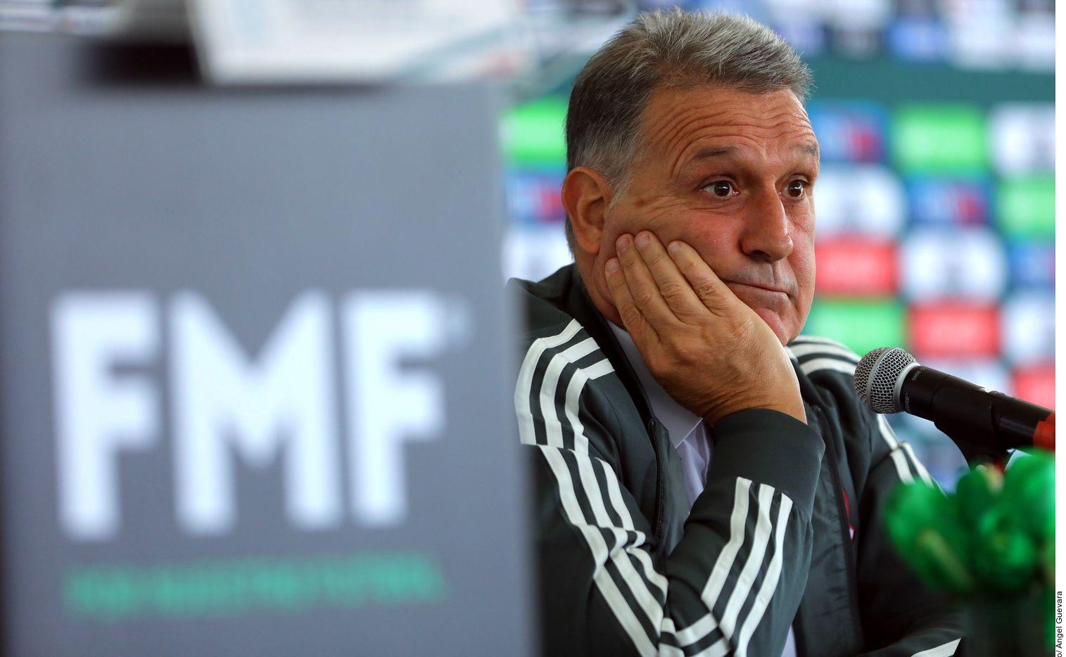 """El 7 de enero durante su presentación como técnico tricolor, """"Tata"""" fue claro en que la Selección Mexicana no estaba sujeta a caprichos."""