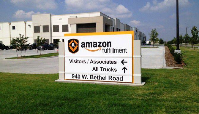 Amazon construirá un centro de distribución de mercancía, como este en Coppell, en el sur de Dallas próximamente. (DMN/ARCHIVO)