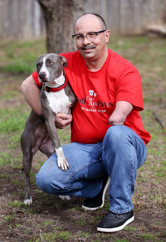 Jeff Meyer renamed his new dog Whiskey, after something else he loves.