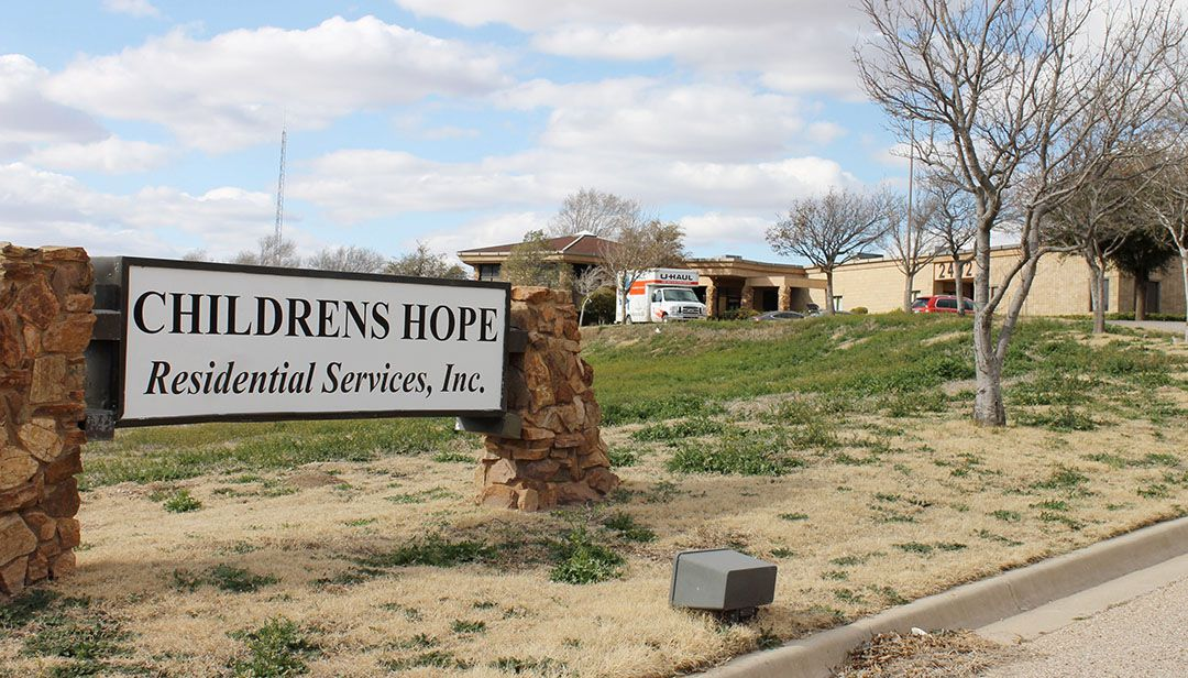 Children's Hope Residential Services Inc. in Lubbock, TX. (Sarah Rafique/Lubbock Avalanche-Journal)