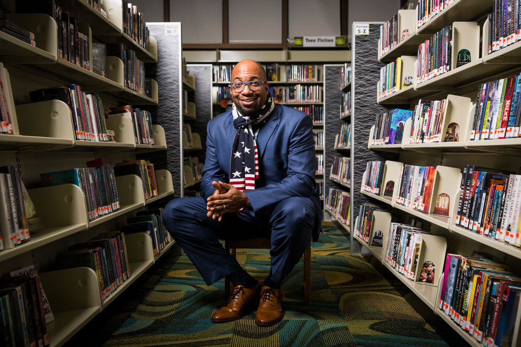 Kwame Alexander, the author of €œThe Crossover and other popular books for young people. (Edmund D. Fountain/The New York Times)