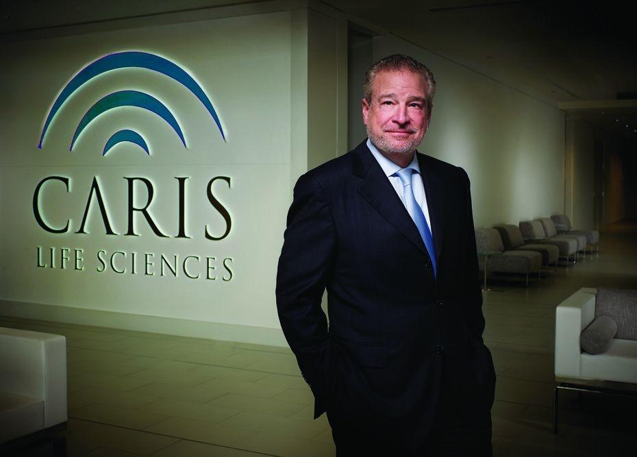 Founder, chairman and CEO of Caris Life Sciences David D. Halbert.