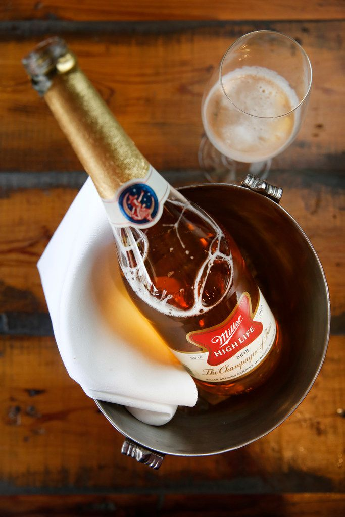 Bottled Miller High Life