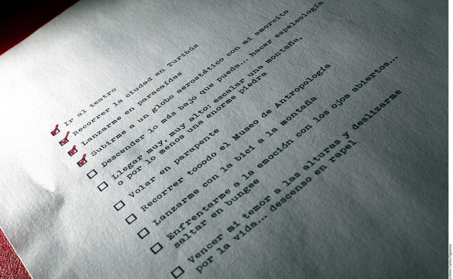 Beneficios de usar una agenda para tu productividad. (AGENCIA REFORMA)