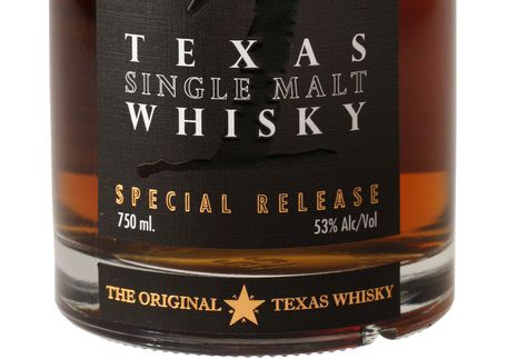 Balcones Texas SIngle Malt Whisky Special Release, for Salut Magazine, photographed February 20, 2014.  (Evans Caglage/The Dallas Morning News)