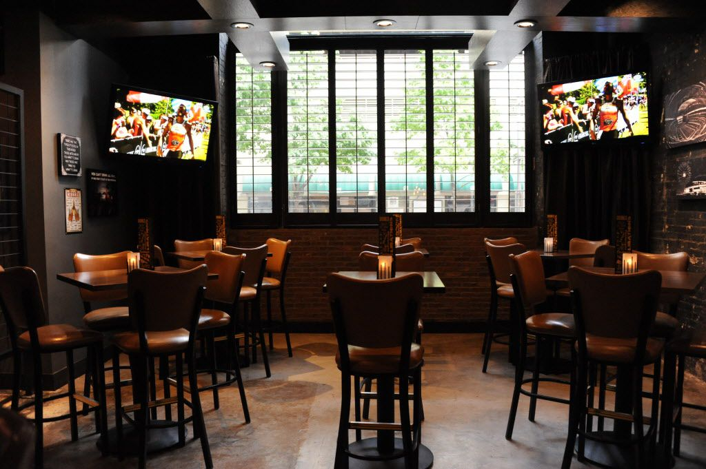 Ample seating is available at Frankie's Downtown.
