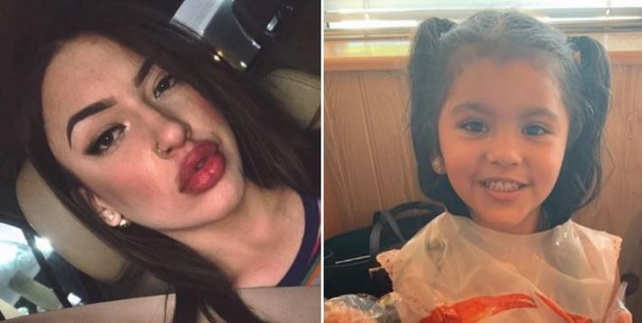 Carmen Lowe and her 4-year-old daughter, Aubriana Recinos, had been missing for about three weeks.